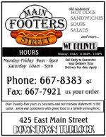 Main Street Footers
